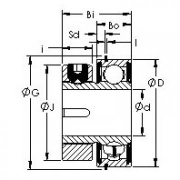 AST S1PPG7-3 bearing units
